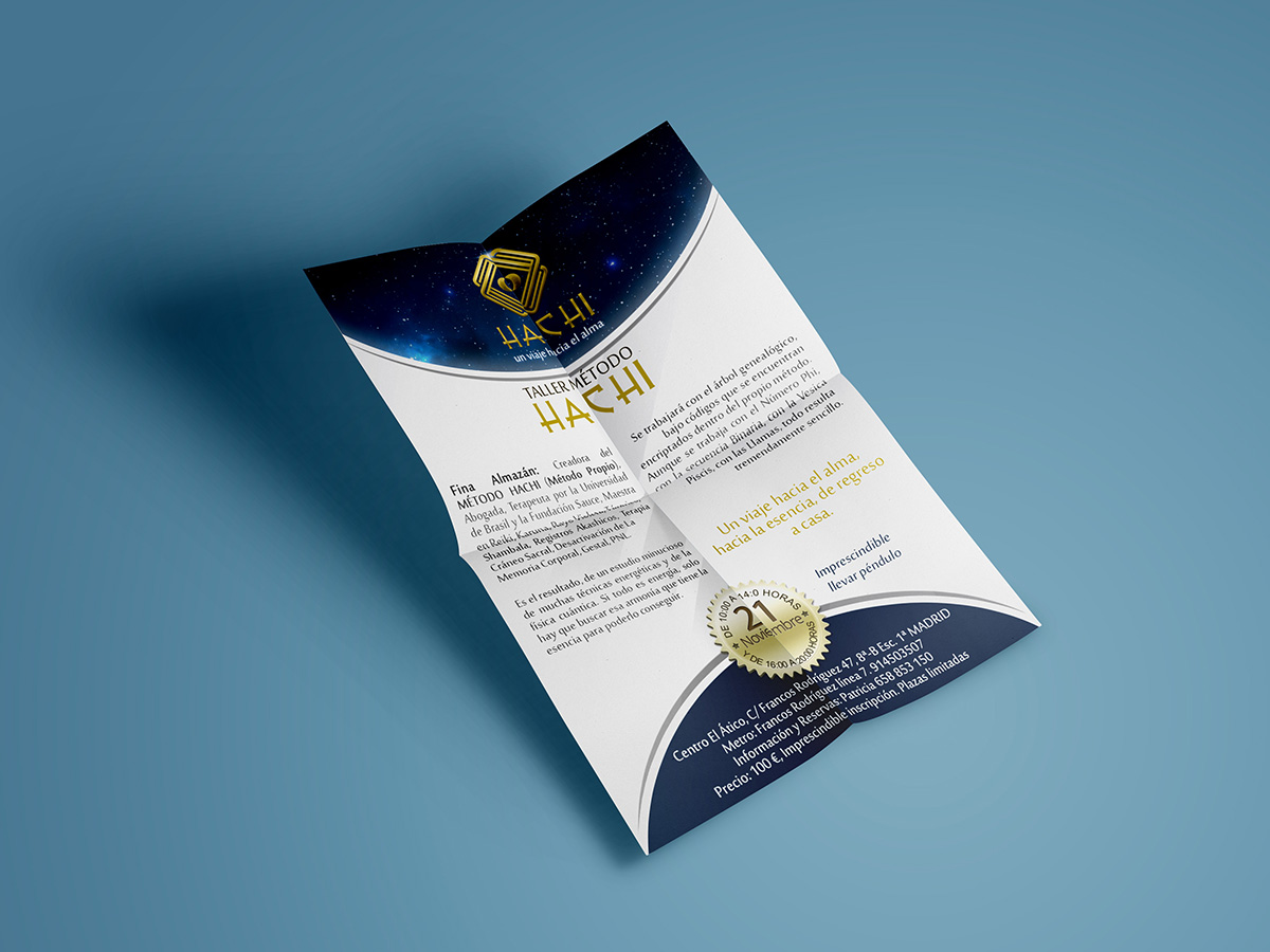 flyers metodo hachi